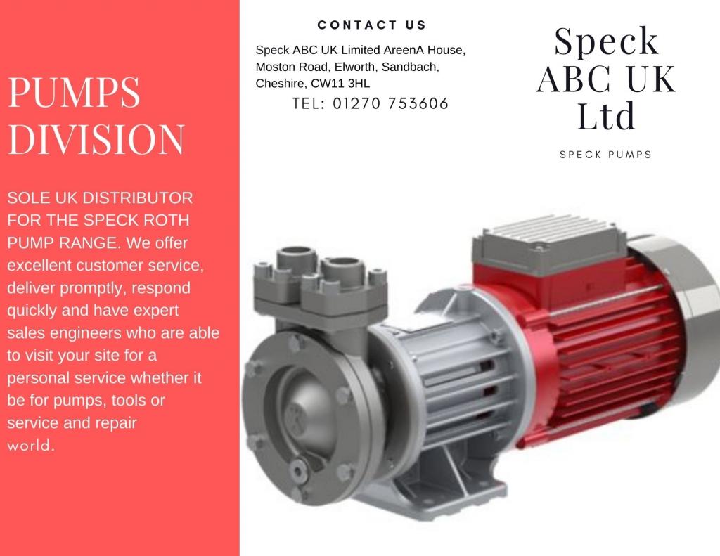 speck division pumps